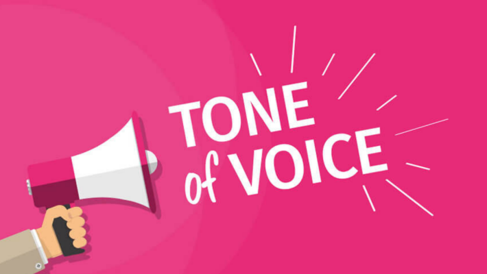 Voice and tone for the email